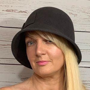 Accessories - Charcoal Wool Bucket Hat